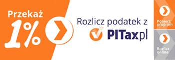 logotyp rozlicz 1% Pitax